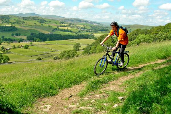 Cycle through glorious Yorkshire countryside and stay at farms along the way